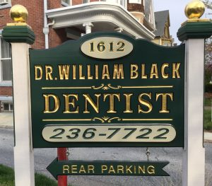 Dr. William Black sign